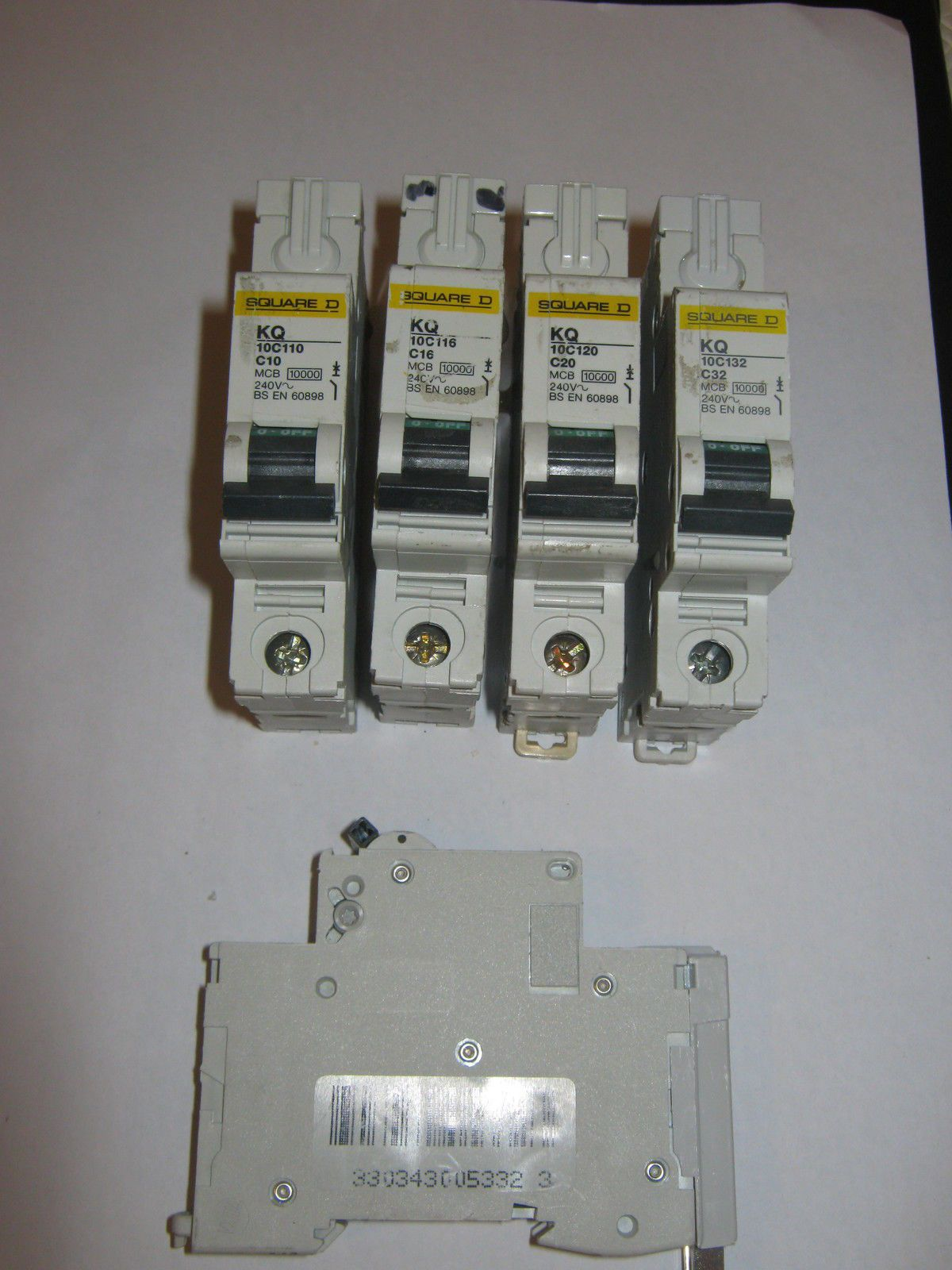 5 x din rail clips for square d kq dom sqo mcb circuit breakers publicscrutiny Image collections
